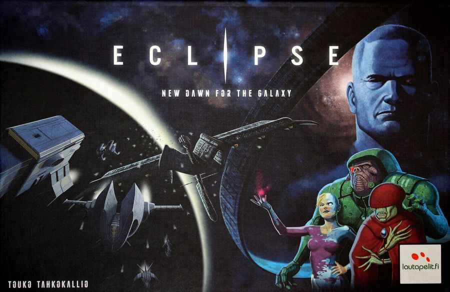 4X - Spiel; Space Opera; Stategie; Vielspieler-Spiel: Eclipse - A new dawn for the galaxy (1. Edition)